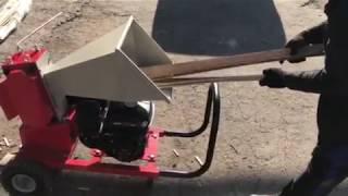 Переробка шпону на подрібнювач гілок АРПАЛ АМ-60БД