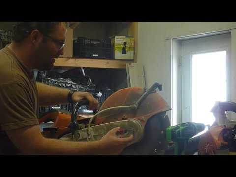 Stihl concrete saw blade replacement youtube stihl concrete saw blade replacement greentooth Choice Image