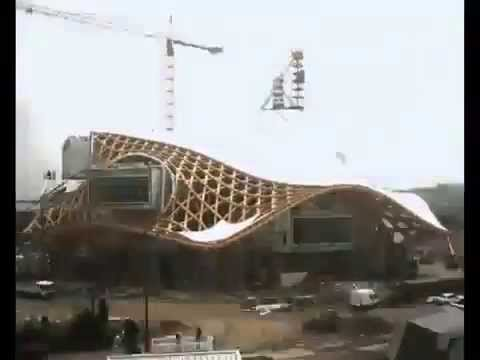 Construction of the Centre Pompidou-Metz museum (Metz, France, 2006-2010)