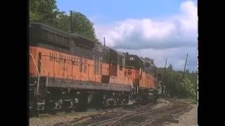 Vintage film of Milwaukee Road - UP - GN and more...