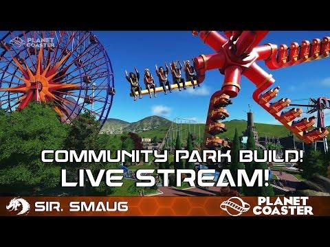 Planet Coaster ALPHA! Community Park Build!