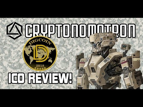 DIGCOIN ICO Review! Cheaper Cloud-Mining with DIGITAL EXCAVATORS!