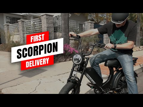 First Juiced Scorpion Delivery!