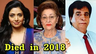 10 Bollywood Actors Who Died in 2018 | Shocking Death