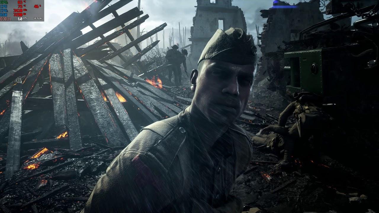 Battlefield 1 sur Dell Inspiron 7577 GTX 1060 Max-Q