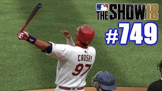 TRYING TO DO SOMETHING I'VE NEVER DONE! | MLB The Show 18 | Road to the Show #749