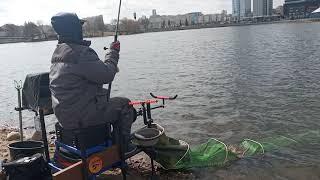 Рыбалка на фидер в жуткий ветер