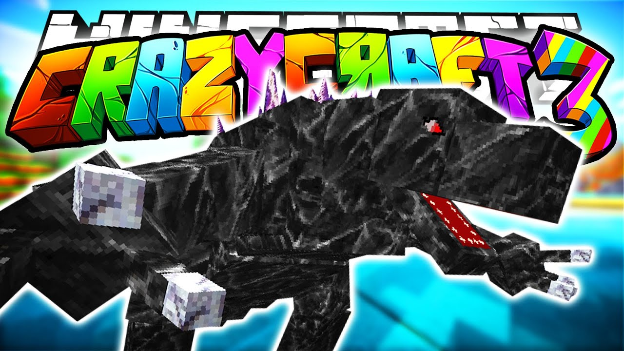 Minecraft crazy craft 3 0 mobzilla boss orespawn mod for Http test voidswrath com modpacks crazy craft 3 0