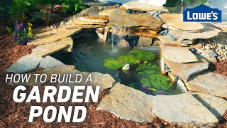 How to Build a Garden Pond (w/ Monica from The Weekender)