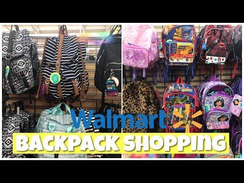 WALMART BACKPACKS 🎒BACK TO SCHOOL SHOPPING 2019