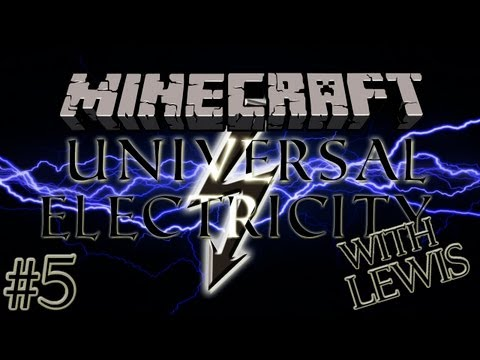 Minecraft: Universal Electricity With Lewis - Blast Compressor, Coke Oven And Blast Furnace #5