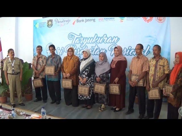 DINKES - Tasyakuran Peringatan HKN Purworejo 2018