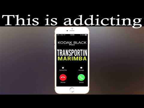 Latest iPhone Ringtone - Transportin Marimba Remix Ringtone - Kodak Black