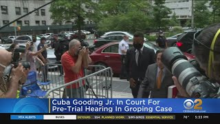Cuba Gooding Jr. In Court For Pre-Trial Hearing In Groping Case