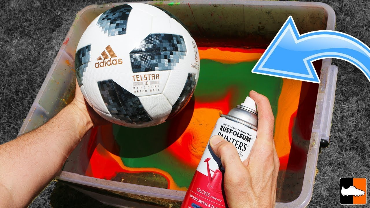08f28fa68 How To Hydro Dip a Football! (Soccer Ball) ⚽ . Football Boots