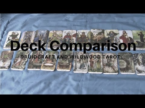 259. Deck Comparison | Druidcraft vs the Wild Wood Tarot
