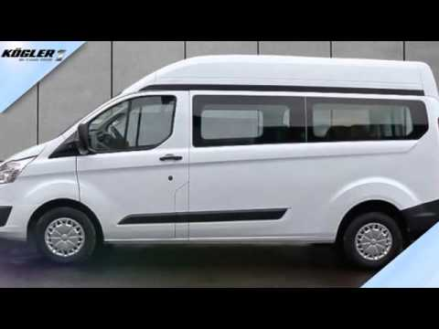 ford transit custom transit custom kombi 300 l2h2 trend 33 youtube. Black Bedroom Furniture Sets. Home Design Ideas