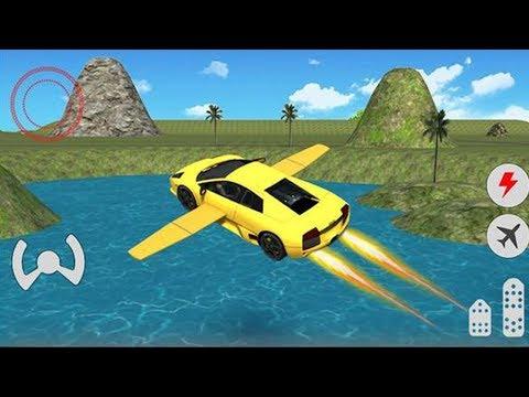 Car Racing Games: Flying Car Free Extreme Pilot  - Kids Car Games 2019