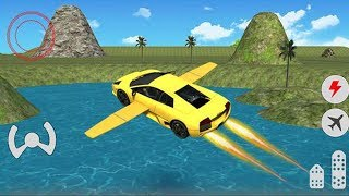 Car Racing Games: Flying Car Free Extreme Pilot    Kids Car Games 2019