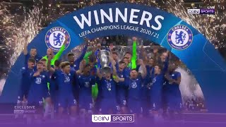 FULL trophy presentation as Chelsea clinch second UCL title   UCL 20/21 Moments