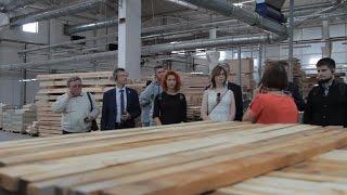 Визит тульских блогеров на завод дверей Mario Riolli(Сбербанк пригласила блогеров в пресс-тур на предприятие