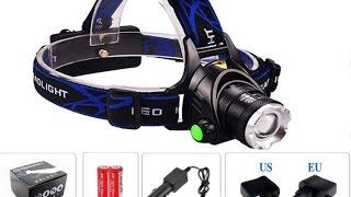 Самый лучший налобный фонарь LED XM-L T6 HEADLIGHT
