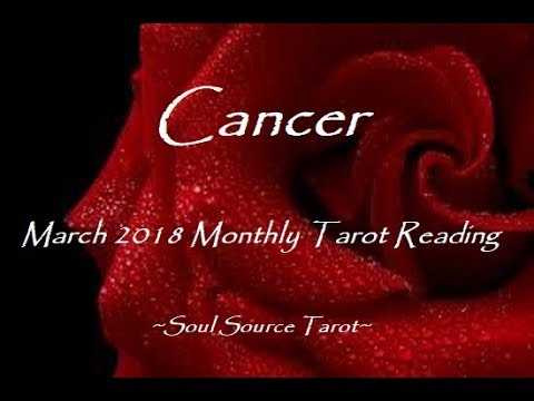 ~Cancer~March 2018~They are never going to change~Monthly Tarot Reading