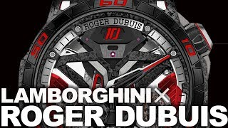【ランボルギーニが時計になった】ロジェ・デュブイとウラカンの融合を見よ!