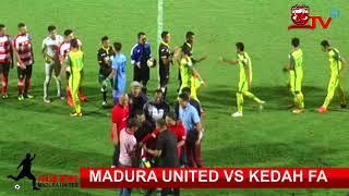 All Goal (2-2) Madura United vs Kedah FA Suramadu Super Cup 2018
