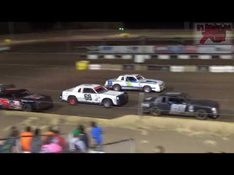 Salina Speedway 9-15-17 IMCA Hobbystock Heat Races