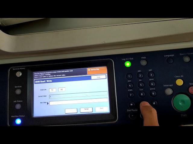 Xerox wc 5335.  when Machine show replace drum cartridges