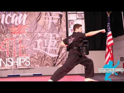 Alex Riggs - Musical Form - 2015 NA Int'l Karate Championships