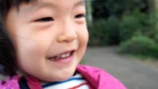 155 2歳2ヶ月赤ちゃん子供 シシシシ笑い 2years 2months old baby kid