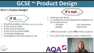 D&T Product Design @ KS4 - 2021 Options
