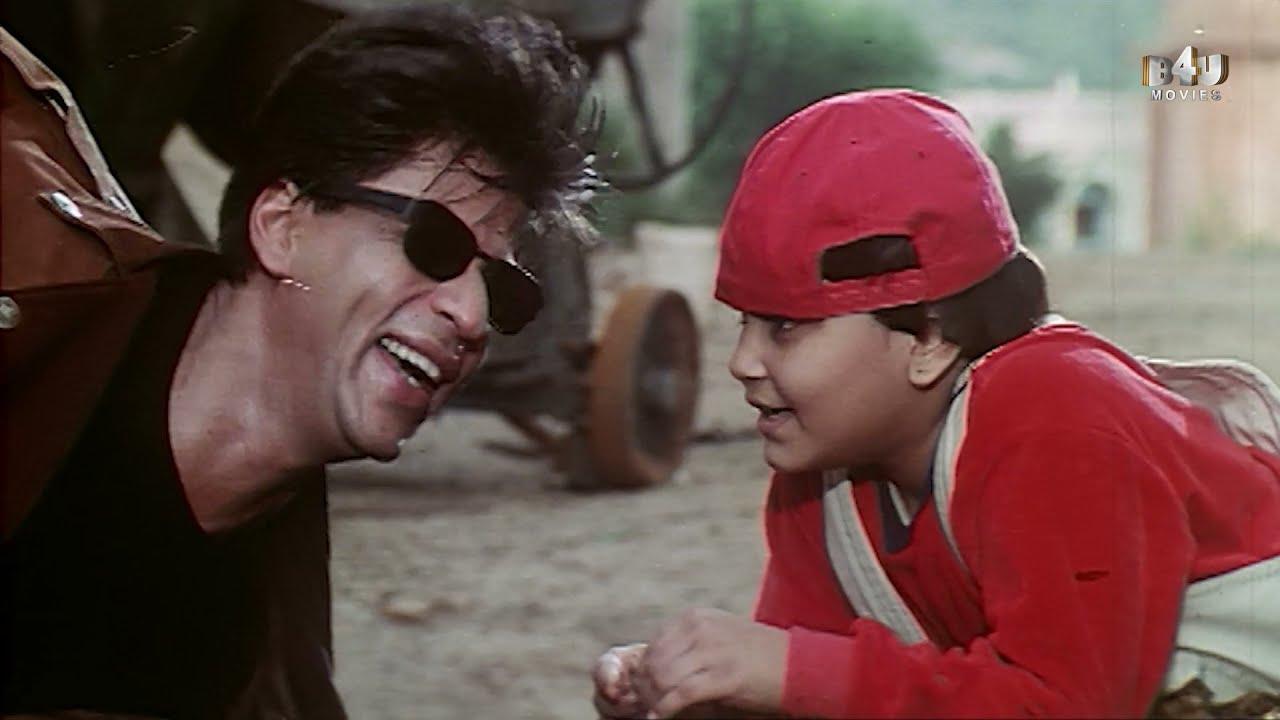 शाहरूख खान का मजेदार एक्शन सीन    Baadshah   Shahrukh Khan, Twinkle Khanna, Johnny Lever