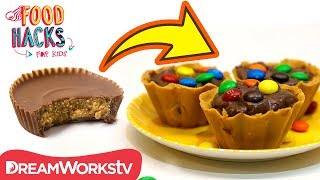 INSIDE OUT Peanut Butter Cups? + More NO BAKE Chocolate Hacks | FOOD HACKS FOR KIDS