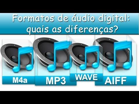 Formatos de áudio digital: quais as diferenças?