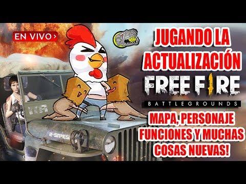 🔴 Jugando la Nueva Actualización de Free Fire - Battlegrounds - Viendo todo lo Nuevo del Juego!!