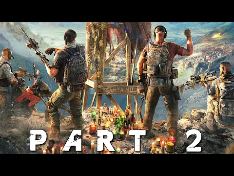 GHOST RECON WILDLANDS - MORTAR, SKYDIVING & M40 SNIPER! Walkthrough Gameplay Part 2 (Campaign)
