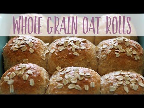 Whole Grain Oat Rolls | Healthy Homemade Recipe