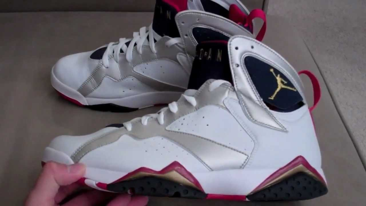 f335e29bbca Shoe pickup: 2004 Air Jordan Olympic VII 7 with on feet footage ...