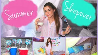Summer Sleepover Ep.1 - First Kiss, Oreo Pops & Pajamas! Thumbnail