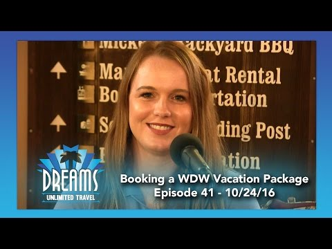 Booking a Walt Disney World Vacation Package | 10/24/16