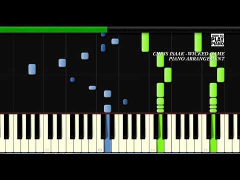 CHRIS ISAAK - WICKED GAME - SYNTHESIA (PIANO COVER)