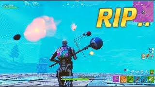Meteor Shower Destroys SKY-BASE.. Unluckiest 2nd Place Fortnite Finish
