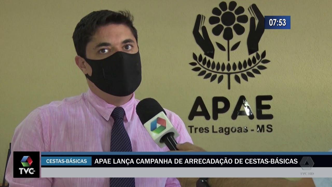APAE lança campanha de arrecadação de cestas básicas