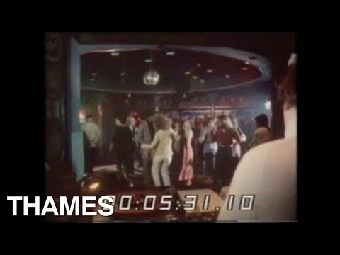 Disco Dancing  Night club  Thames Television  1970's