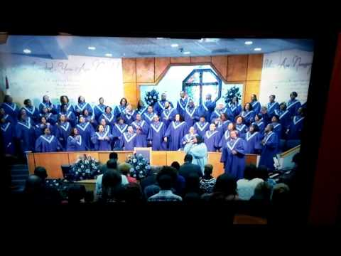 Candance Thomas Mitchell and FBC Unified Choir