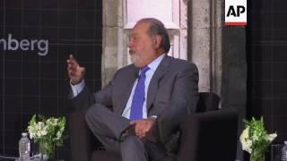 Slim says Trump economic plans good for Mexico