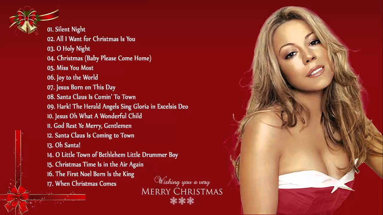 Christmas Songs By Mar... Mariah Carey Christmas Songs Youtube